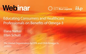 Educating Consumers and Healthcare Professionals On Benefits of Omega-3