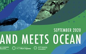 "Invitation to webinar series ""Land meets Ocean"""